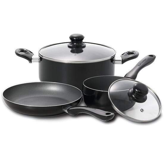 Starfrit 5 Piece Simplicity Black Cookware Set