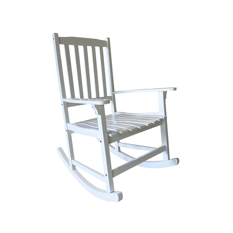Acacia Rocker Solid White Paint