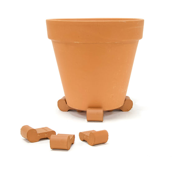 Red Clay Pot Feet-3 Pieces