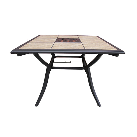 "40"" Tile Top Dining Table"