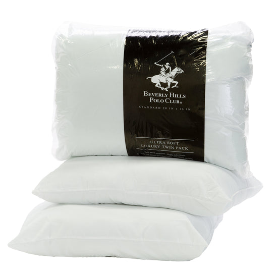 Twin Pack Bed Pillows (2 Sizes)