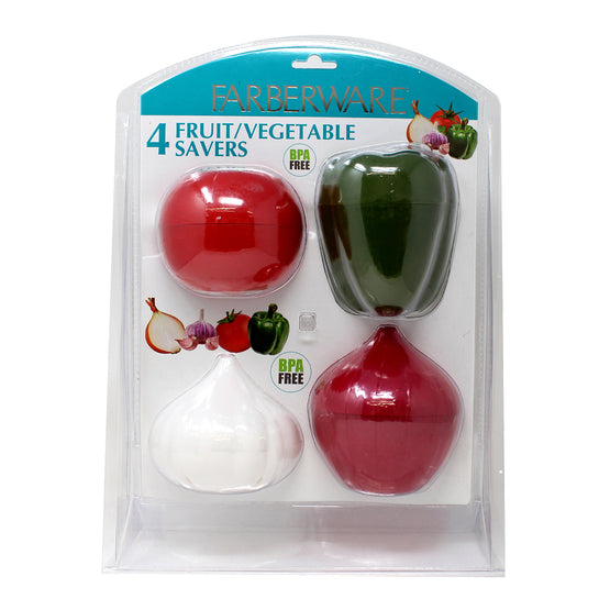 4-Piece Veggie Saver Set