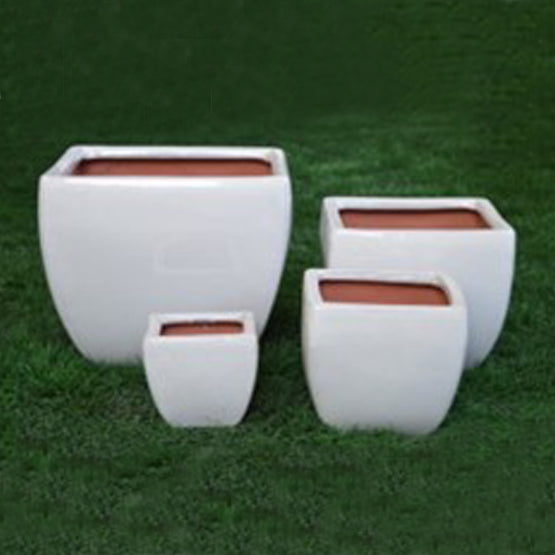 Glazed Square Planter (4 Sizes)