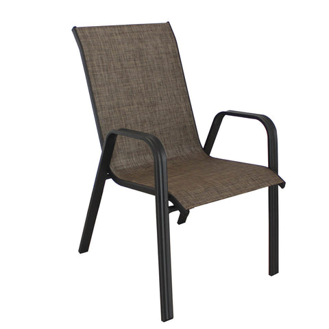 Textured Sling Stack Chair (2 Colors)