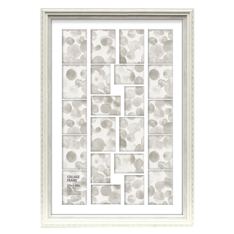 22-Opening White Collage Frame