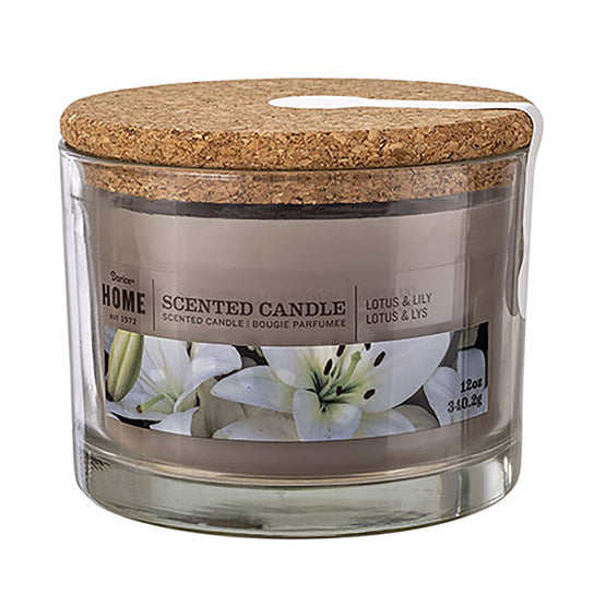 12oz 3-Wick Candle Lotus N Lily