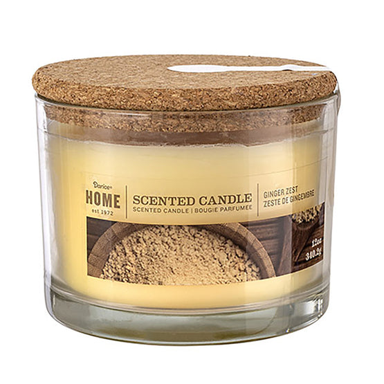 12oz 3-Wick Candle Ginger Zest