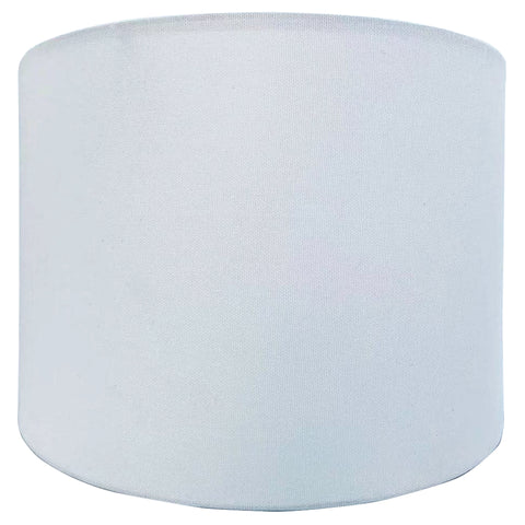 White Linen Lamp Shade (2 Sizes)