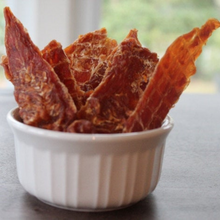 Load image into Gallery viewer, Chicken Jerky Dog Treats - Single Ingredient (pre-order at 40% off)