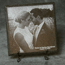 Load image into Gallery viewer, 6 x 6 beveled granite tile