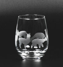 Load image into Gallery viewer, Etched Alpaca Glassware