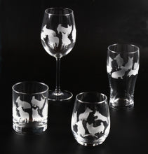 Load image into Gallery viewer, Etched Corgi Glassware