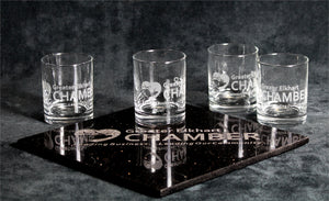 Granite and Glass Boardroom Set