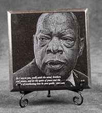 Load image into Gallery viewer, John Lewis Commemorative Granite Plaque