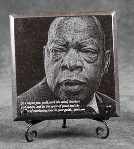 John Lewis Commemorative Granite Plaque