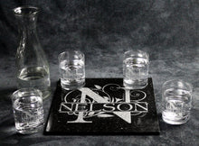 Load image into Gallery viewer, Granite and Glass Set with Standard Water Carafe