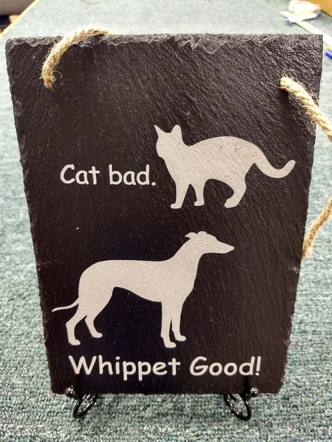 Whippet Good Hanging Slate