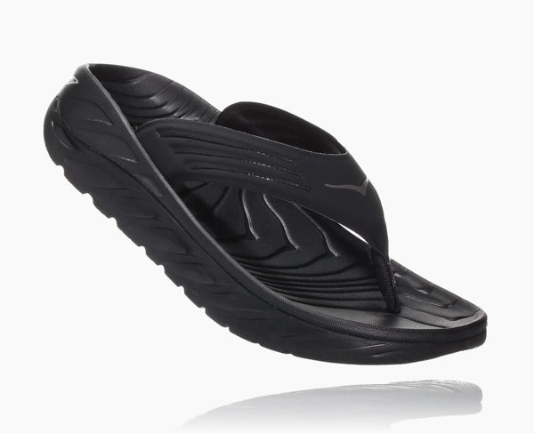 Women's Ora Recovery Flip - Black/Dark Gull Gray