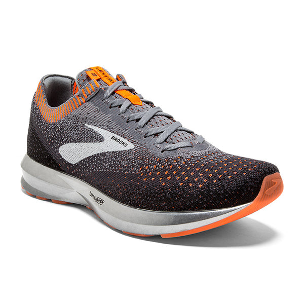 Men's Levitate 2- Grey/Black/Orange