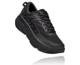 Hoka Men's Bondi 7- Black/Black