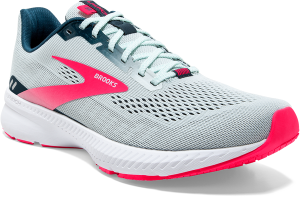 Women's Launch 8 - Ice Flow/ Navy/ Pink