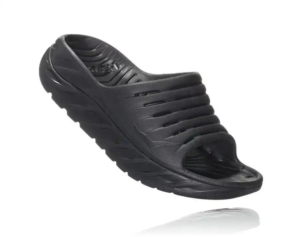 Men's Ora Recovery Slide - Black/Black