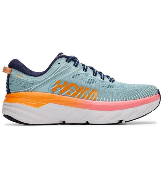 Women's Hoka Bondi 7- Blue Haze/ Black Iris