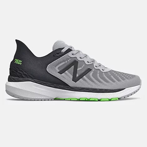 Men's New Balance 860v11 Light Aluminum/ Black