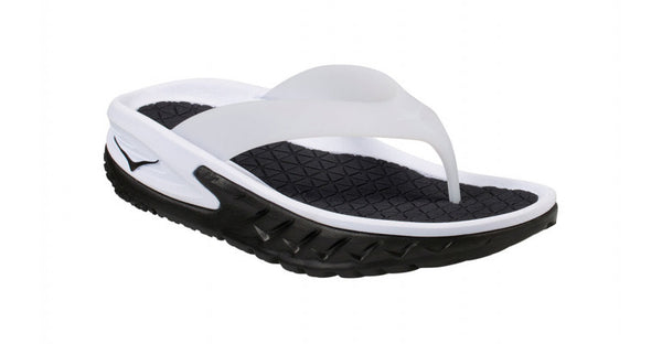 Women's Ora Recovery Flip - Black/White