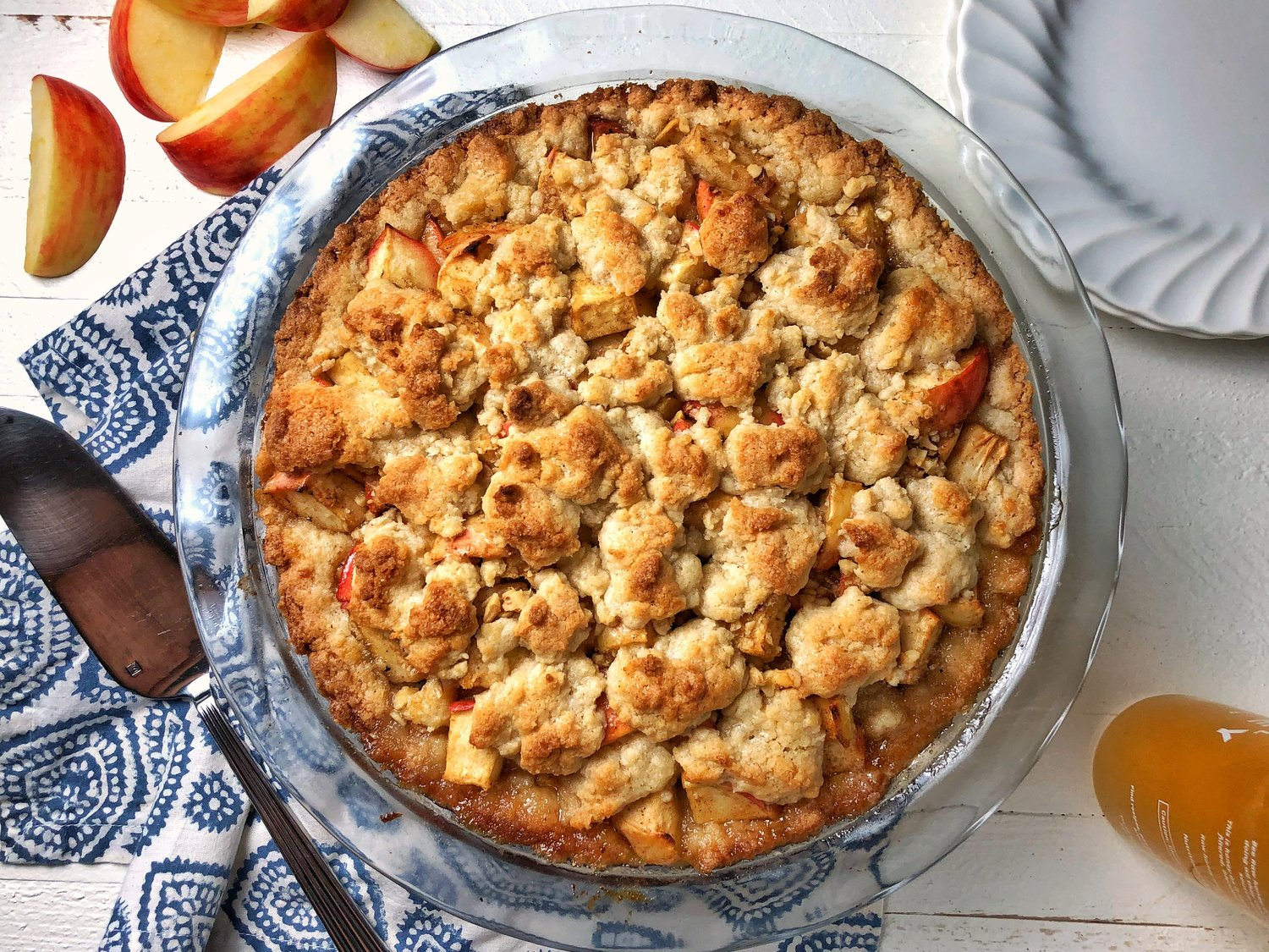 Fall in love with Apple Crumble ❤️  🍁