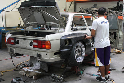 Project Ares - Pandem (rocket bunny) supercharged LS1 E30
