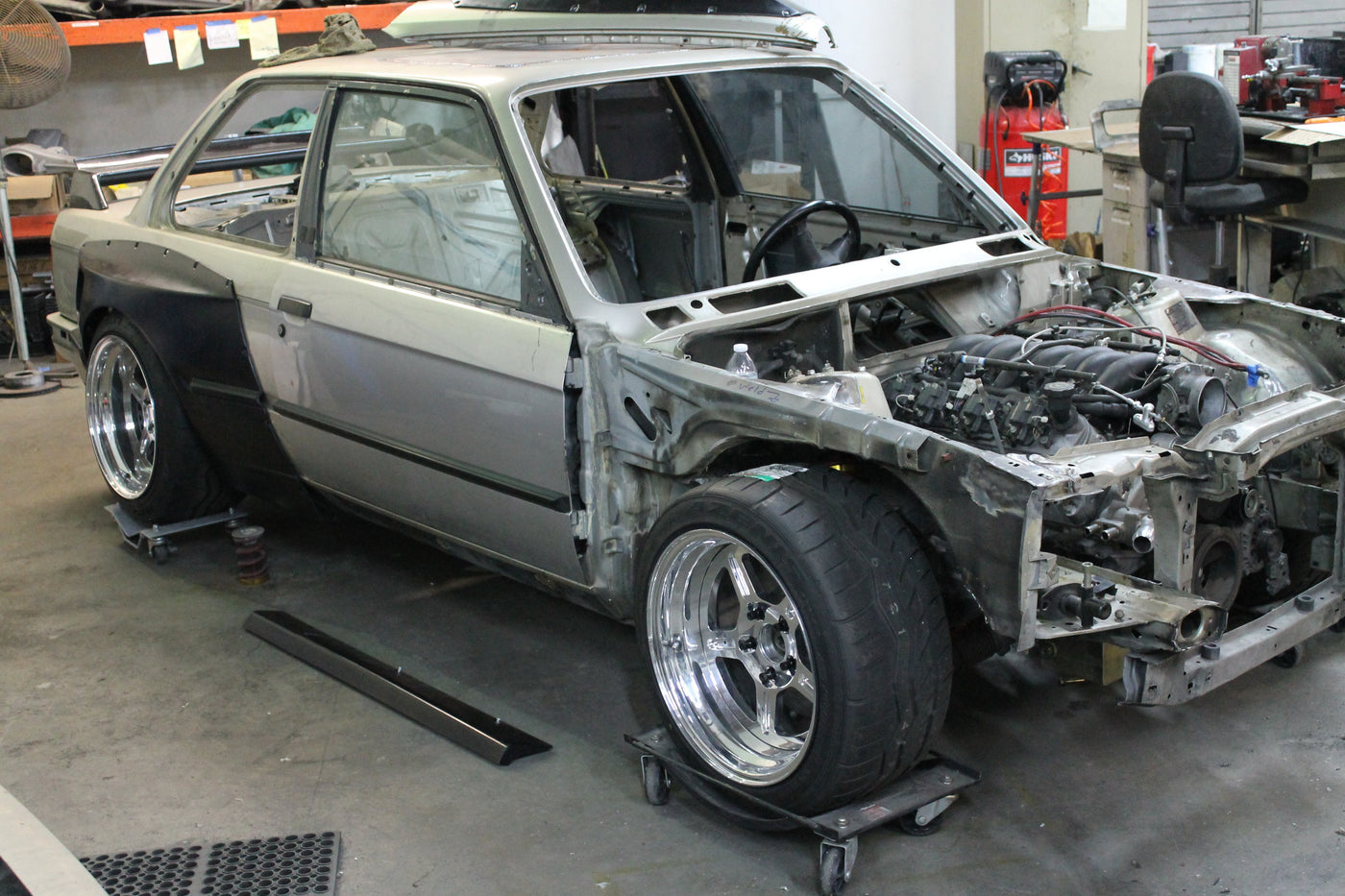 News-First Steps to SEMA-Garagistic