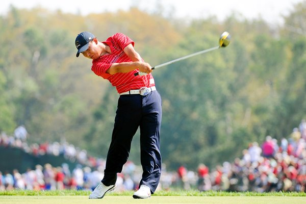 Anthony Kim AK swing 2008 Ryder