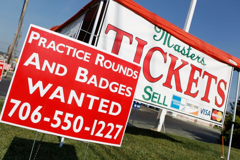 masters ticket prices go down sale discount
