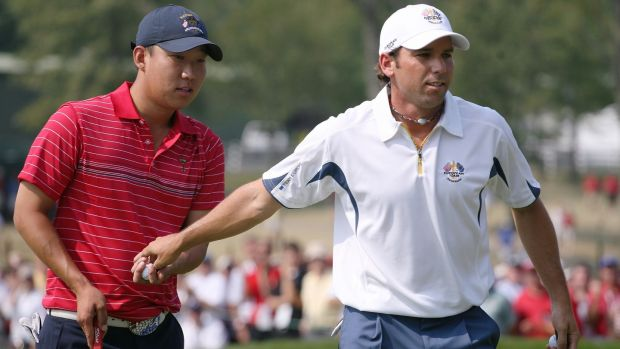 anthony kim and sergio garcia 2008 ryder cup