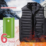 Lightweight Heated Golf Vest with Battery Pack