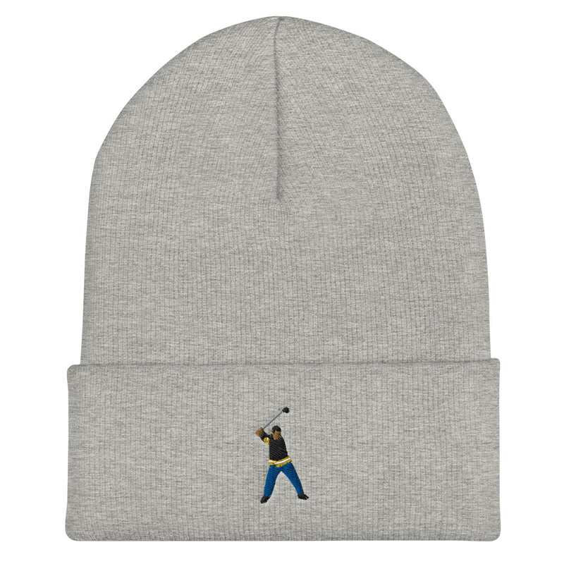 Happy Gilmore Cuffed Beanie
