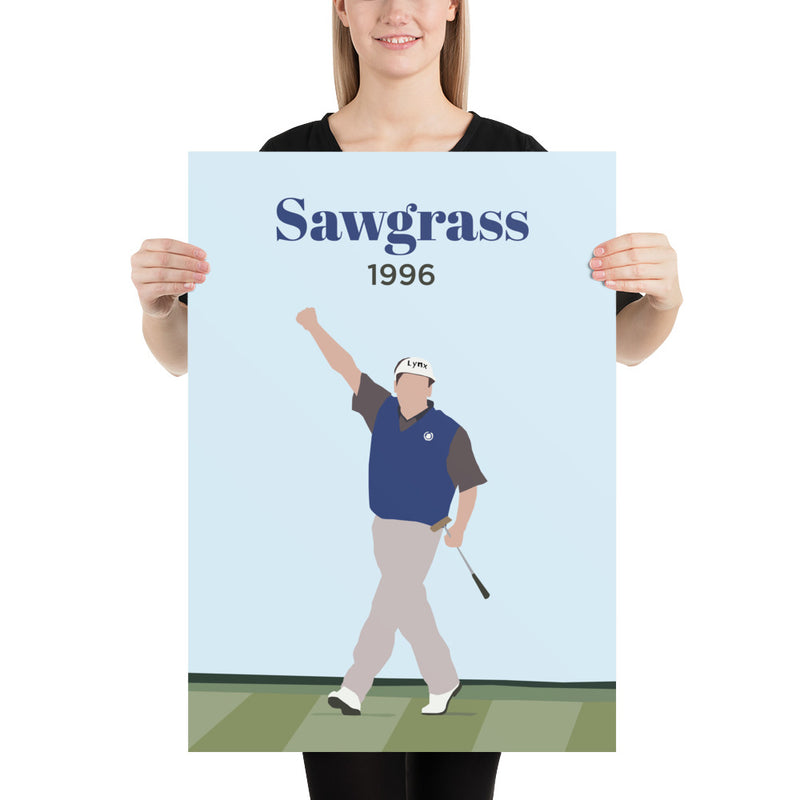 Fred 1996 Sawgrass Poster