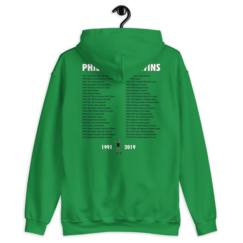 Phil All Time Wins Hoodie - Golfer Paradise