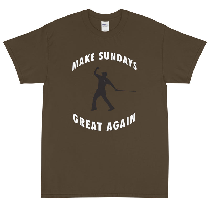 Make Sundays Great Again Golf T-Shirt - Golfer Paradise