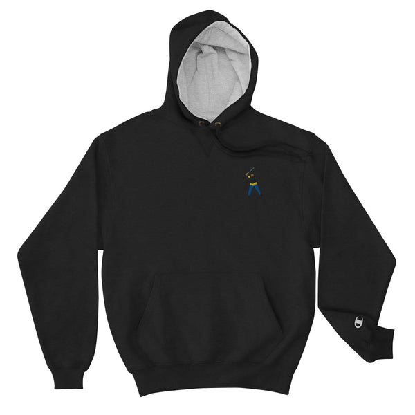 Happy Gilmore Embroidery Champion Hoodie - Golfer Paradise