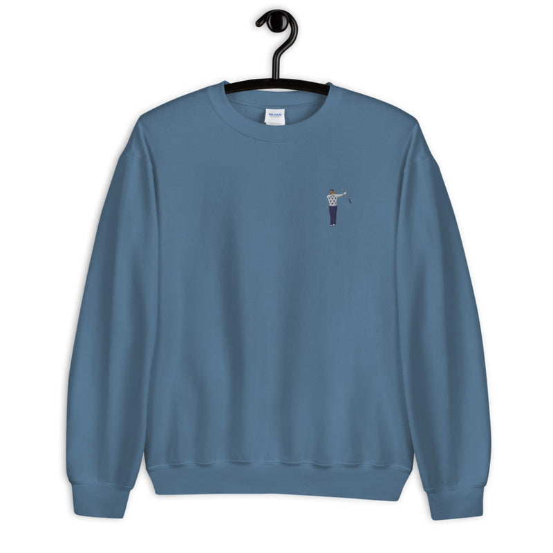 2009 Twirl Embroidery Fleece Pullover