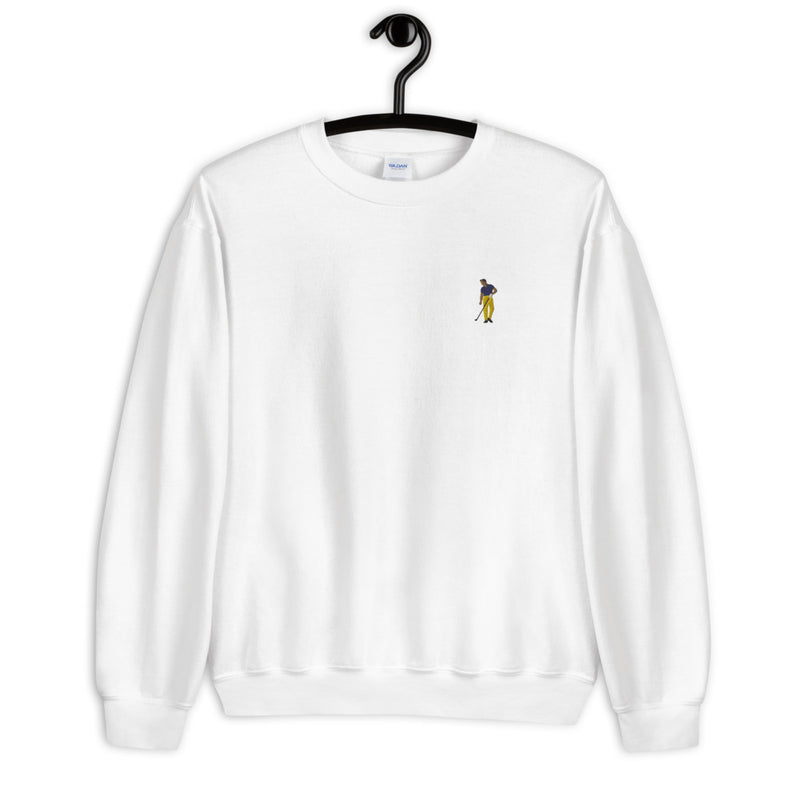 Arnie Embroidery Fleece Pullover - Golfer Paradise