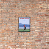Tiger 2000 Pebble Beach Framed poster - Golfer Paradise
