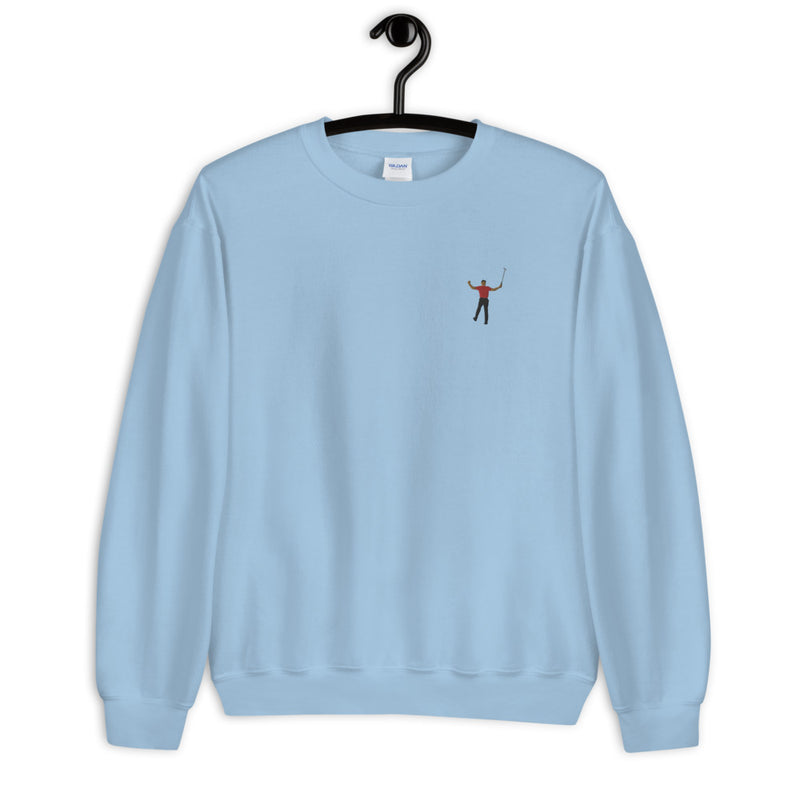 Tiger 2019 Embroidery Fleece Pullover - Golfer Paradise