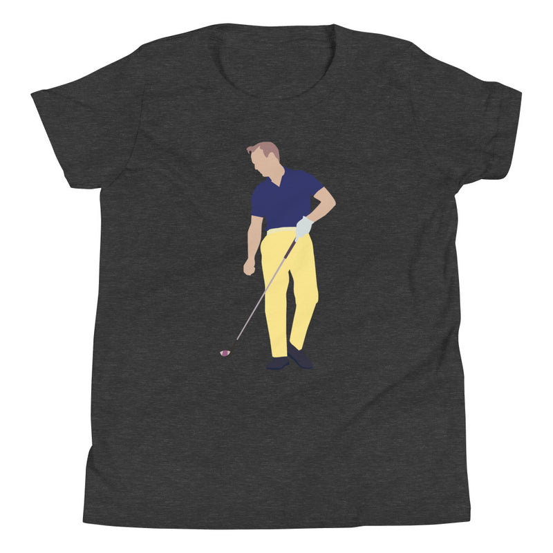 Arnie Youth T-Shirt - Golfer Paradise
