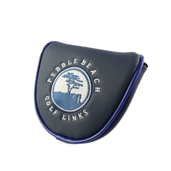Pebble Beach Mallet Golf Putter HeadCover - Golfer Paradise