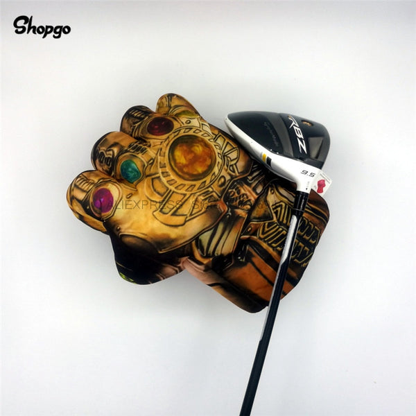 Thanos Fist Golf Driver Headcover - Golfer Paradise