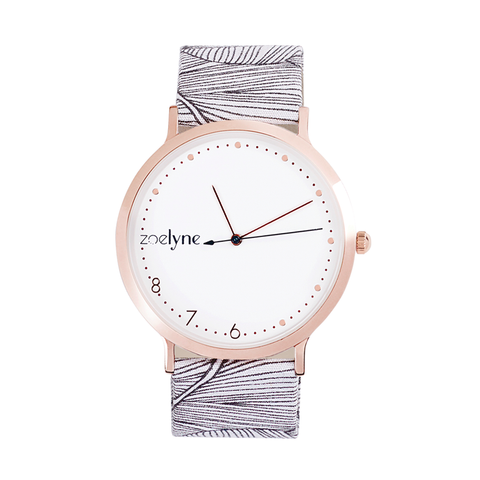 Montre - La Delicate Or rose