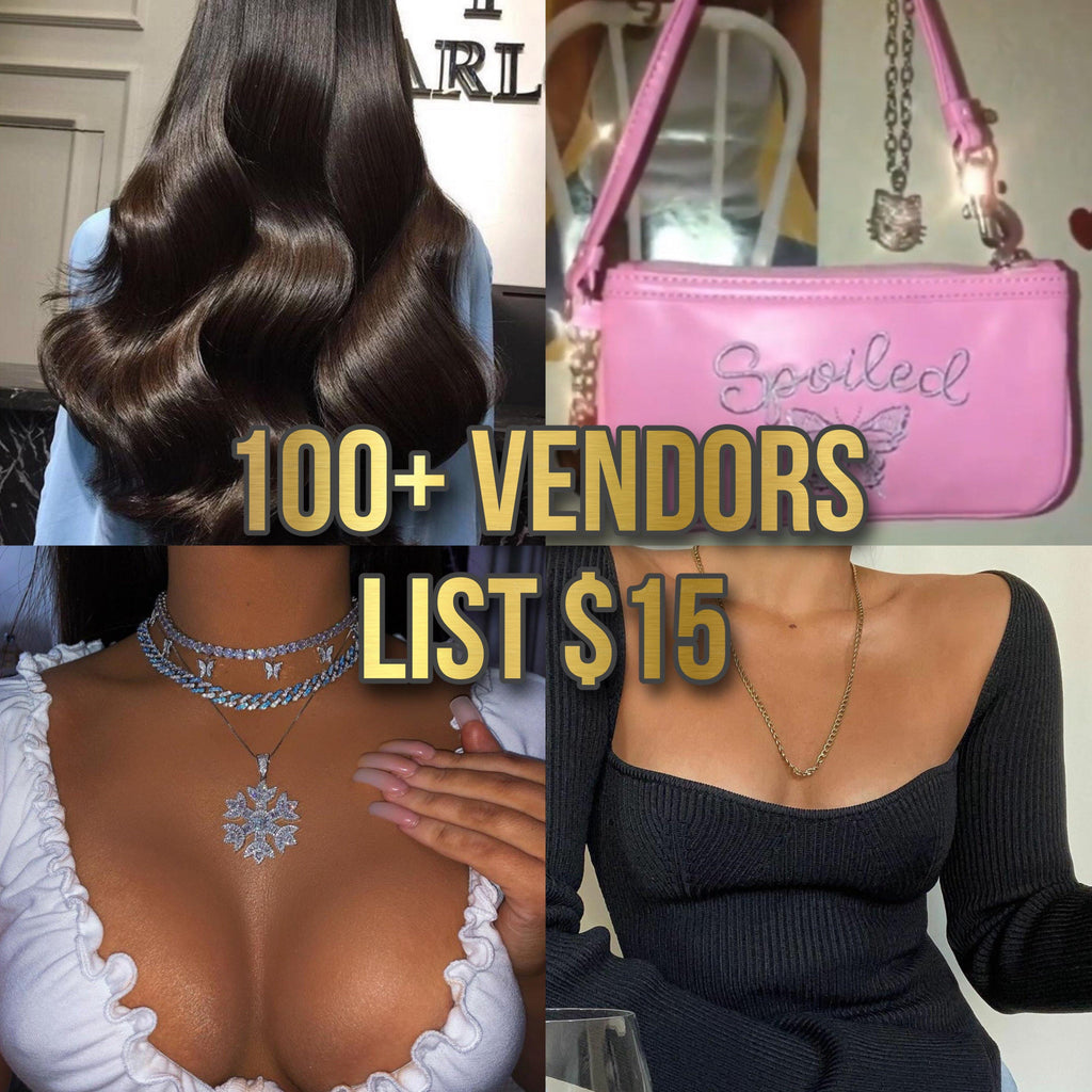 100+ Vendors List🔥 - ShopSheAte